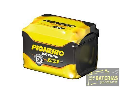 Bateria Automotiva Pioneiro 45ah 12v - Pioneiro