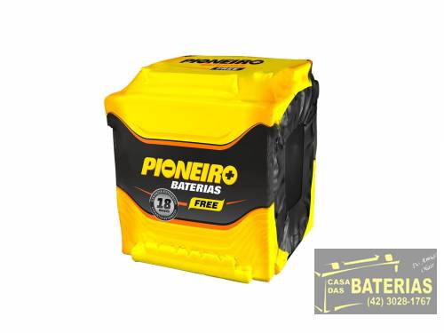 Bateria Automotiva Pioneiro 42ah 12v - Pioneiro
