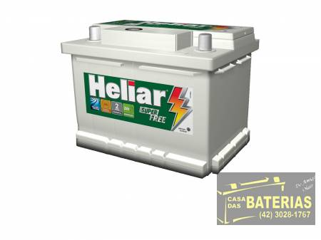 Bateria Heliar 48ah Super Free
