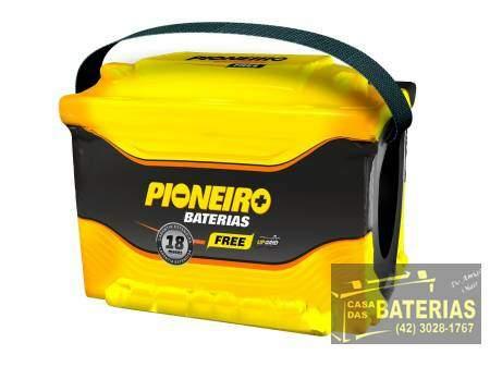 Bateria Automotiva Pioneiro 75ah 12v - Pioneiro