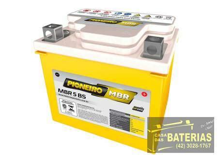 Bateria Pioneiro Moto 12v  5BS - Pioneiro